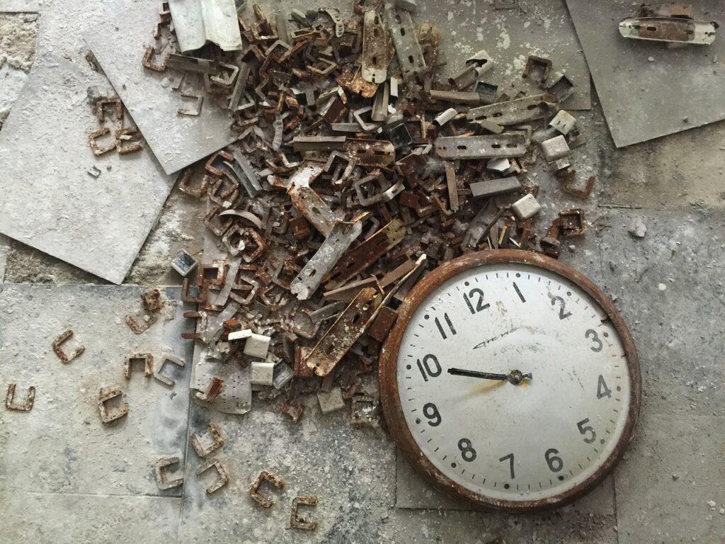 W Czarnobylu czas stanął w miejscu. Fot. h-moose / Pixabay