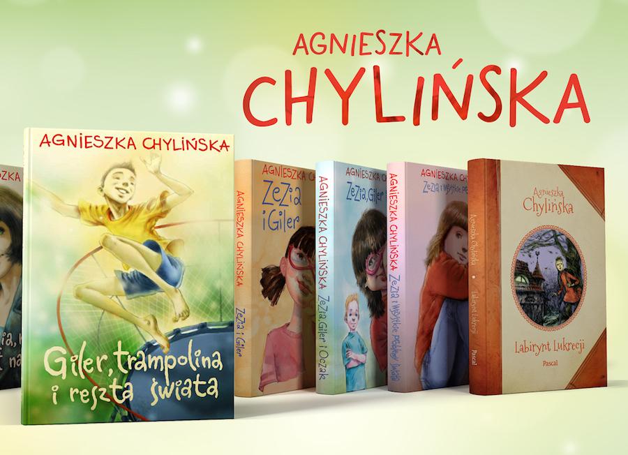 Agnieszka Chylińska książki dla dzieci