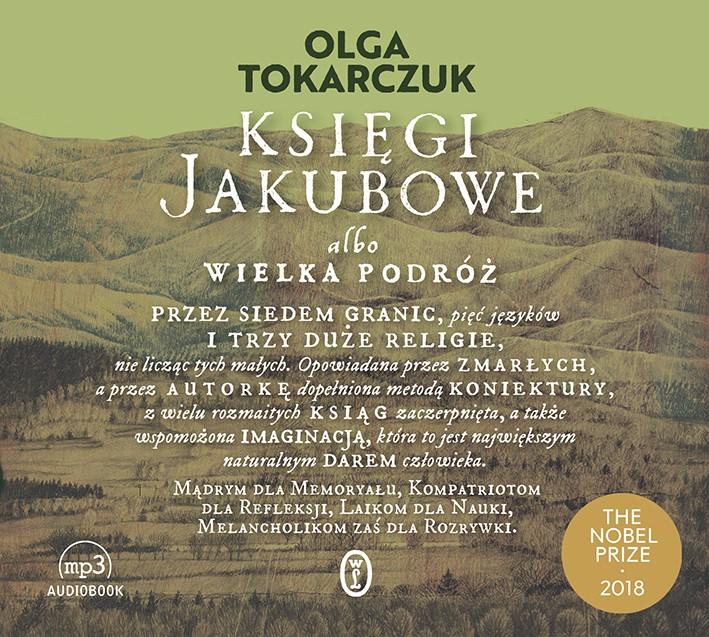 Olga Tokarczuk Księgi Jakubowe audiobook