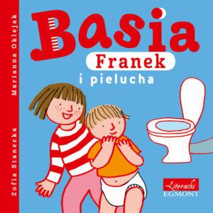 Basia, Franek i pielucha książka