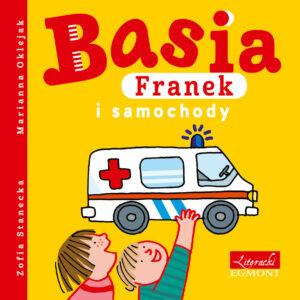 Basia, Franek i samochody książka