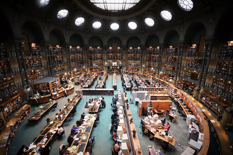biblioteka Nardowa Francji - Vincent Desjardnis WC