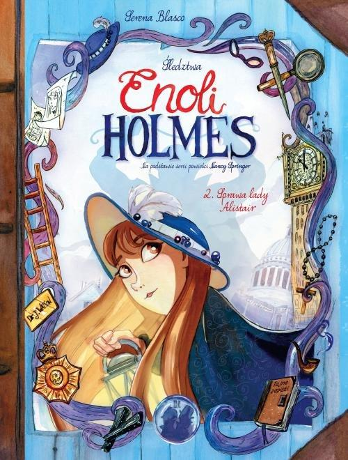 Śledztwa Enoli Holmes Tom 2